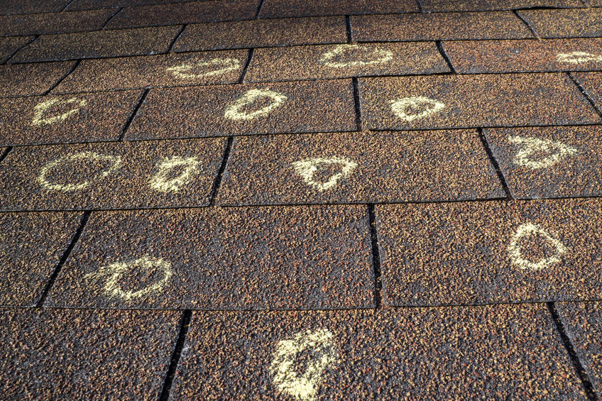 How Does Hail Affect Roofing Shingles?